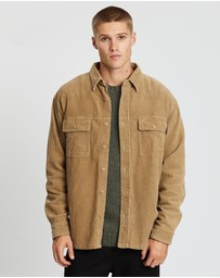 Rusty - Coop Corduroy Long Sleeve Shirt