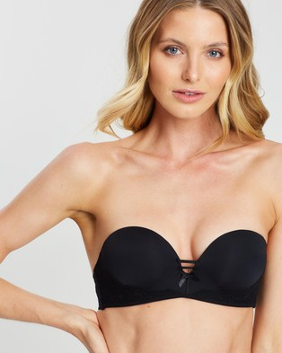 Cotton On Body Sophia Lace Strapless Push Up 2 Bra - Underwear & Sleepwear (Black)