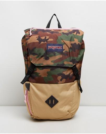 Jansport Pike Backpack Surplus Camo