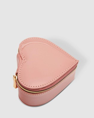 Louenhide Heart Jewellery Box - Travel and Luggage (Nude)