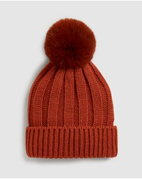 French Connection - Rust Beanie