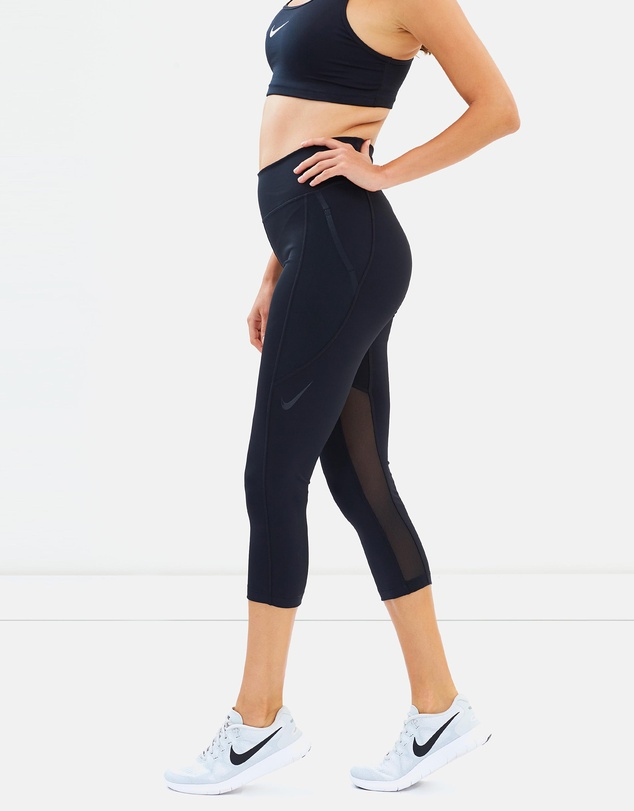 Nike - Power Pocket Luxe Cropped Leggings
