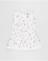 Cotton On Baby - Tess Flutter Sleeve Dress - Babies