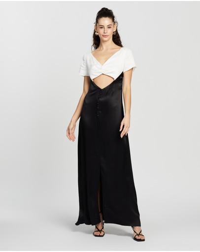 Anna October Saturday Dress Black & White