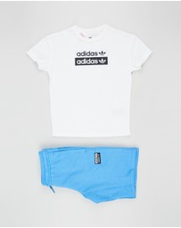 adidas Originals - R.Y.V. Shorts Set - Kids