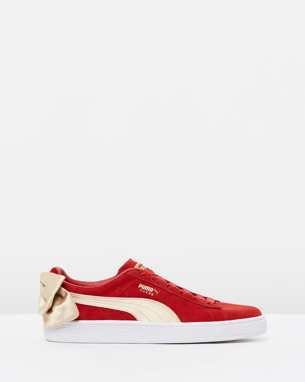 Suede Bow Varsity - Women s by Puma Online  ef18a446d