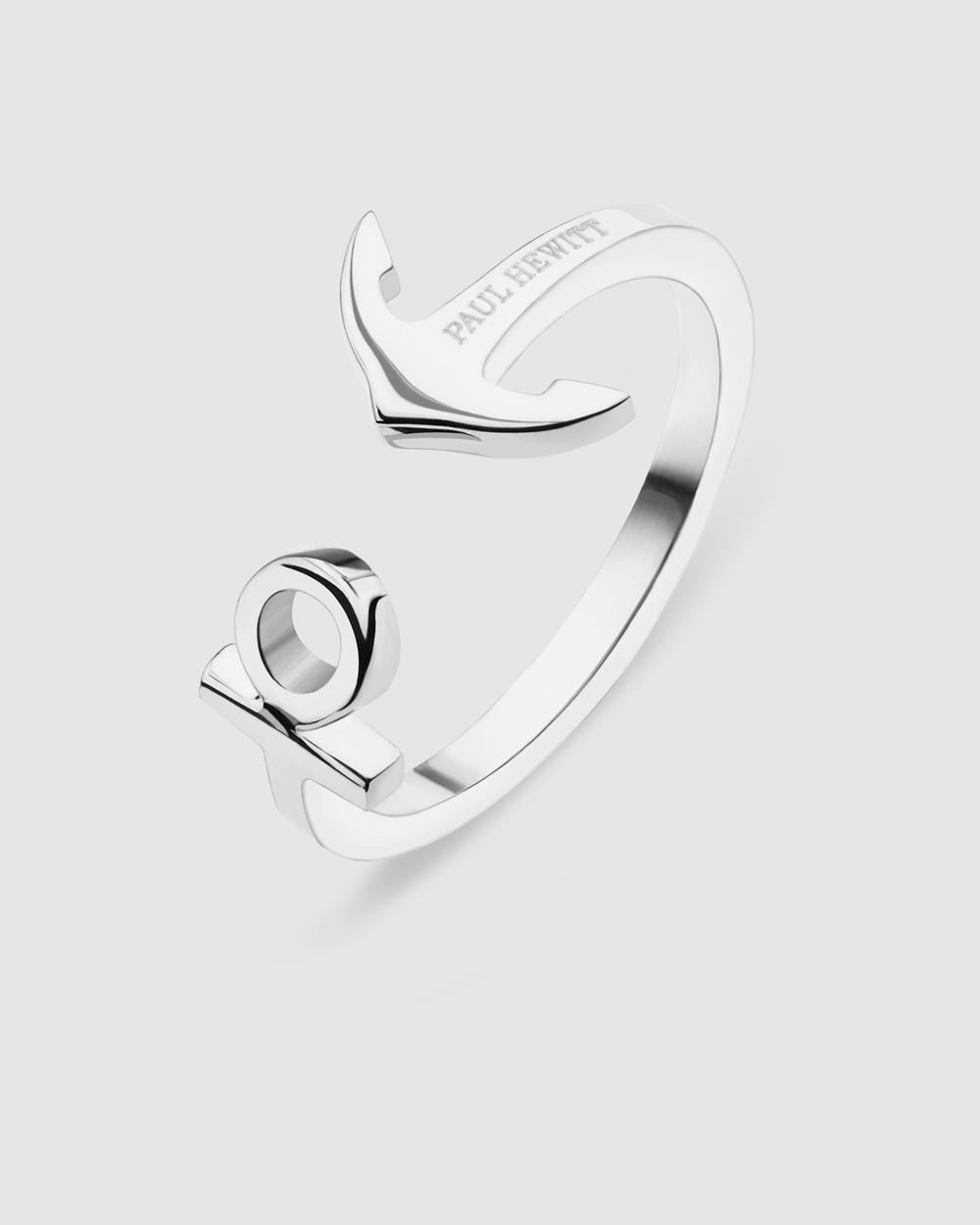 Paul Hewitt Anchor Rope Ring Jewellery Silver