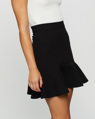 Atmos&Here Jacinta Flared Skirt Skirts Black