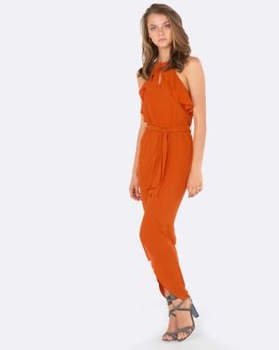 Amelius – Amazon Dress Rust