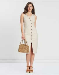 Otto Mode - Alice Asymmetrical Button Dress