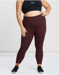 Nike - All-In Lux Crop Tights Plus