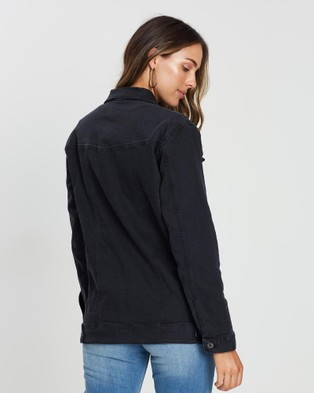 Outland Denim The Smith Jacket - Denim jacket (Black)