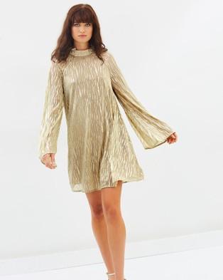 Elliatt – Glide Dress GOLD