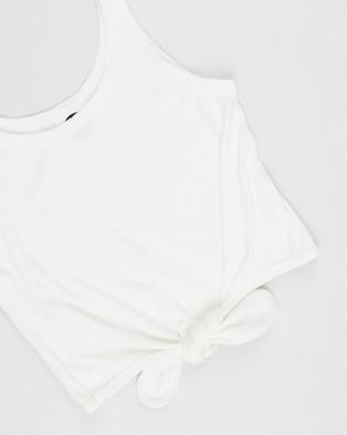 Eve Girl Louise Tank   Teens - Tops (White)