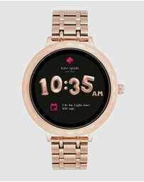 Kate Spade - Scallop Rose Gold-Tone Smartwatch