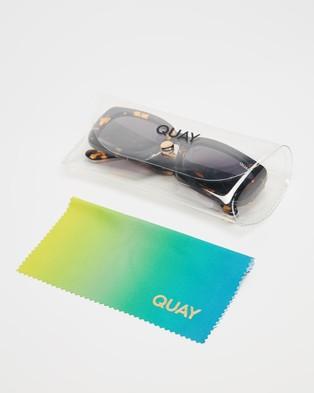 Quay Australia Yada Yada - Sunglasses (Tort & Smoke Lens)