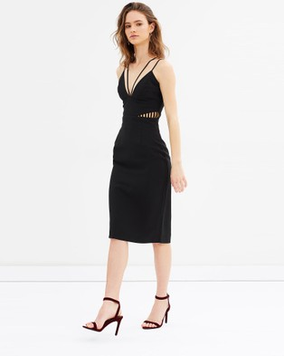 Grace Willow – Emma Spaghetti Dress Black