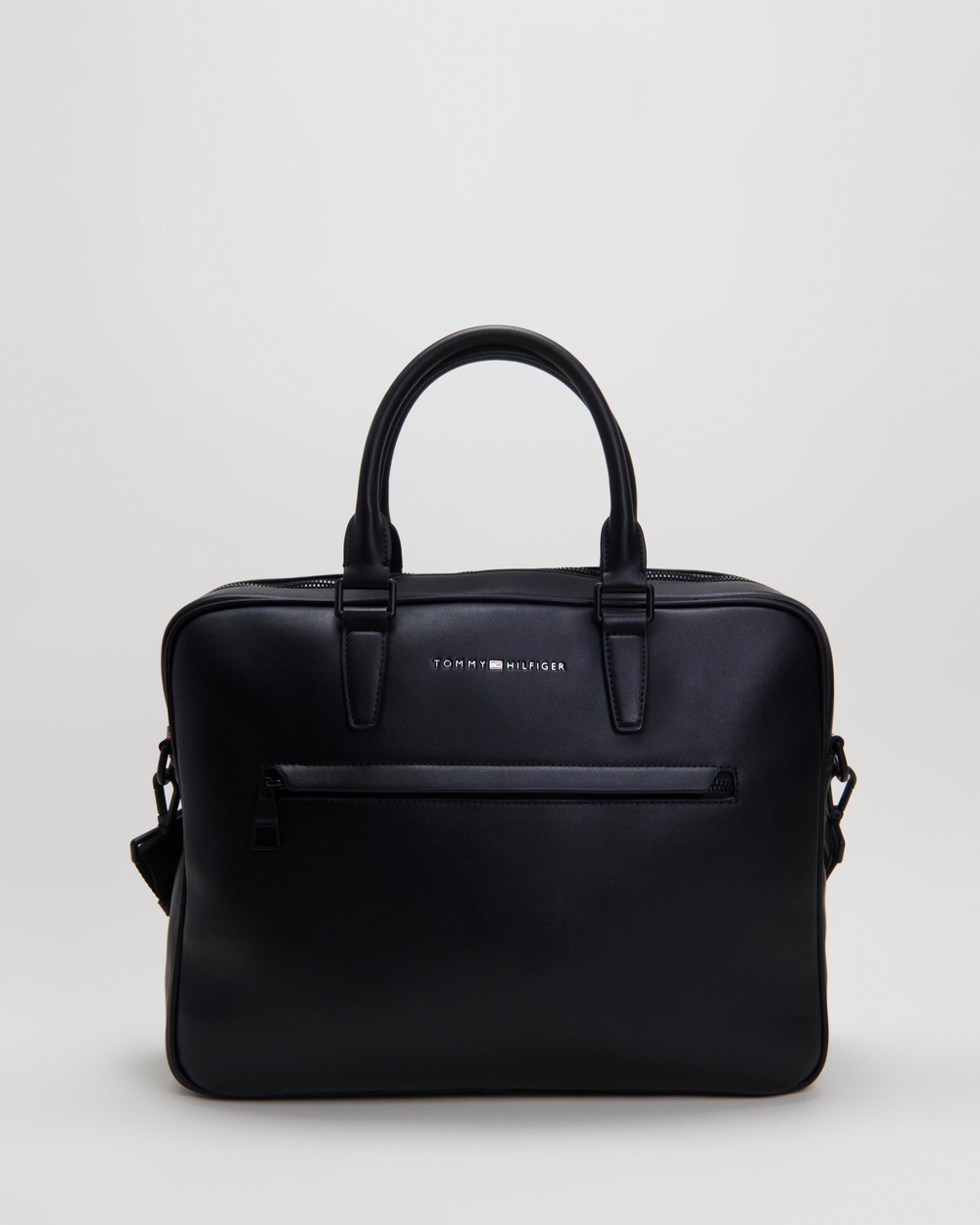 Tommy Hilfiger Metro Slim Computer Bag Bags Black Australia