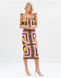 Pasduchas - Tropez Ruffle Midi Dress