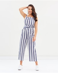 The Fifth Label - Sequence Striped Jumpsuit