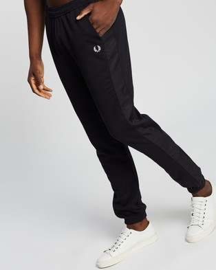 Fred Perry Panelled Track Pants - Sweatpants (Navy)