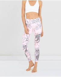 Dharma Bums - Pretty Wild High Waist Leggings - 7/8