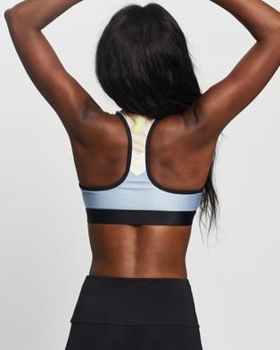 P.E Nation Side Step Sports Bra - Crop Tops (Ashley Blue)