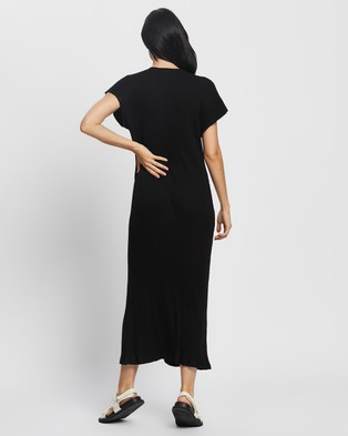 Sancia  The Delilah Dress - Dresses (Black Bamboo Rib)
