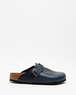 Birkenstock Boston NL SFB - Casual Shoes (Blue)