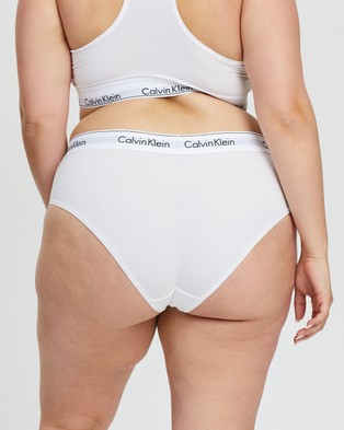 Calvin Klein Modern Cotton Plus Hipster Briefs - Hipster Briefs (White)