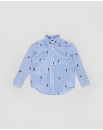 Polo Ralph Lauren - Printed Seersucker Shirt - Kids