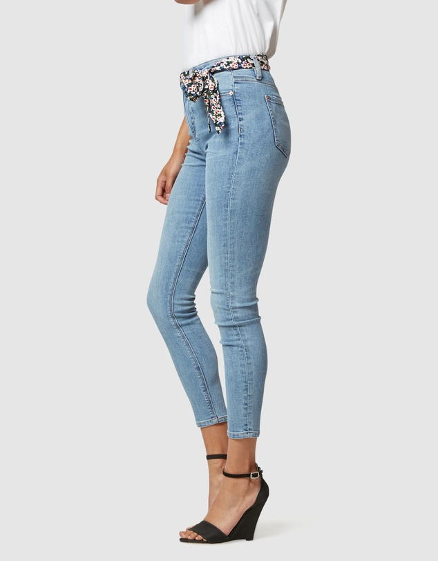 Jeanswest - Delevine Mid Waisted Skinny Ankle