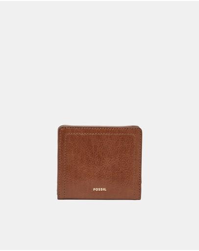 Fossil Logan Brown Bifold Wallet
