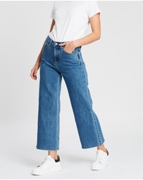 Assembly Label - High Waist Flare Jeans