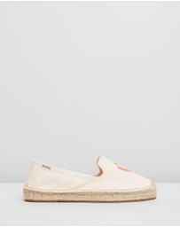 Soludos - Peach Bum Smoking Slippers