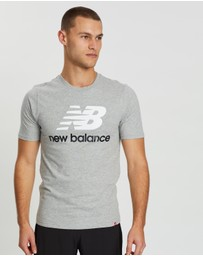 New Balance - Stacked Logo Tee