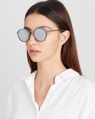 Kapten & Son Amsterdam - Sunglasses (Gloss Grey & Smoke Silver)