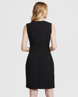 ARIS Crossover Dress - Dresses (Black)