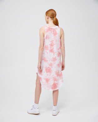 Jac & Mooki Giselle Dress - Dresses (flamingo tie dye)