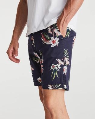 Coast Clothing Midsummer Chino Shorts - Chino Shorts (Navy)