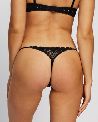 Bendon Thong Briefs - Thongs & G-Strings (Black)