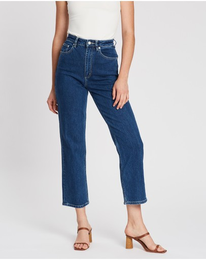 Lee - High Straight Jeans