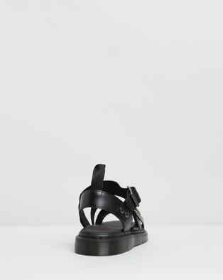 Dr Martens - Unisex Gryphon Strap Sandals Casual Shoes (Black Brando)
