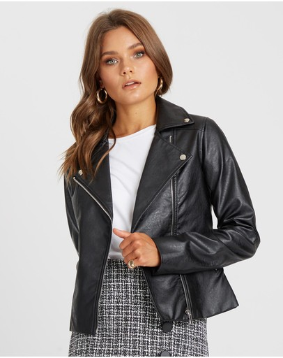 9336616a2be7c Leather Jackets | Buy Womens Jackets Online Australia- THE ICONIC