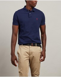 Basic Mesh Custom Slim Fit Polo