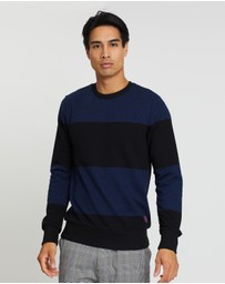 Scotch & Soda - Crew Neck Melange Sweatshirt
