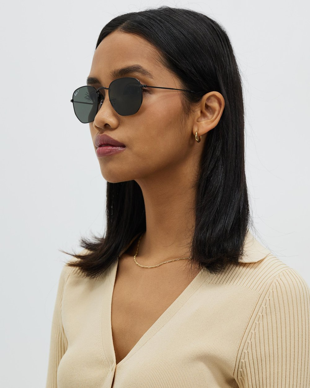 58948a15990 Hexagonal Flat Lens Polarised by Ray-Ban Online