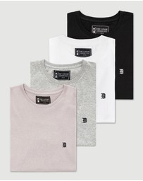 DVNT - 4 Pack Classic Embroidery Tee