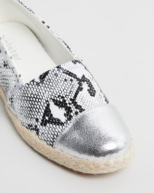 Holster Coco - Flats (White Snake)