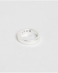 Icon Brand - Flat Out Band Ring